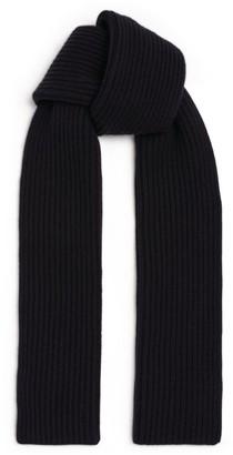 Dolce & Gabbana Cashmere Ribbed Scarf