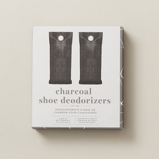 Indigo Charcoal Shoe Deodorizers Set Of 2