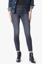 7 For All Mankind High Waist Ankle Skinny In Cobblestone Grey
