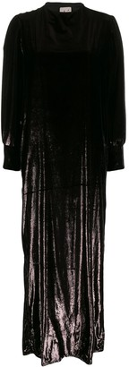 L'Autre Chose Textured Long Sleeved Shift Dress