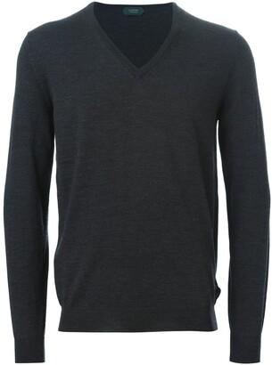 Zanone v-neck sweater