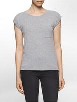 Calvin Klein Suede Jersey T-Shirt
