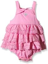 3 Pommes Baby Girls Plain Full Slip - Pink -