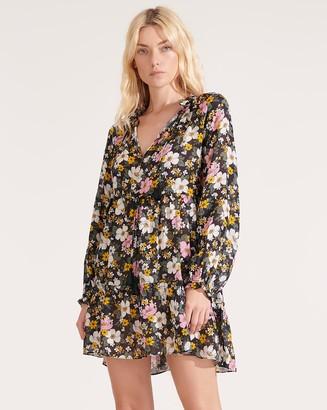 Veronica Beard Danica Floral Cover-Up Dress