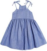Milly Minis Cotton & Linen Blend Chambray Dress