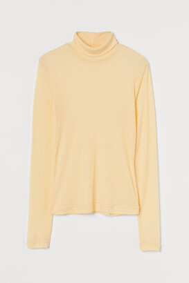 H&M Fitted Turtleneck Top