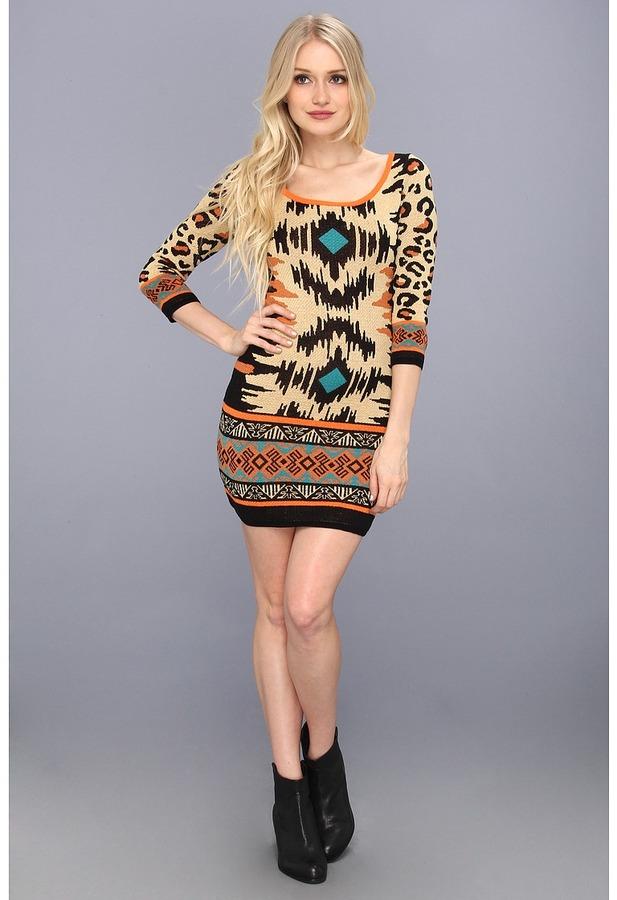 Type Z Addy Dress (Orange) - Apparel