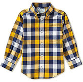 Class Club Little Boys 2T-7 Checked Button-Front Long-Sleeve Shirt