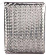 Paco Rabanne Embossed Metallic iPad Case w/ Tags