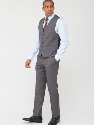 Skopes Tailored Pietro Trousers - Grey Textured Weave