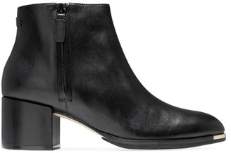 Cole Haan Grand Ambition Leather Ankle Boots