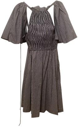 Rosie Assoulin Navy Cotton Dresses