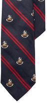 Polo Ralph Lauren Lion Silk Repp Narrow Club Tie