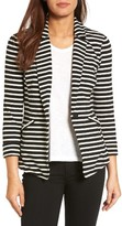 Petite Women's Caslon Knit One-Button Blazer