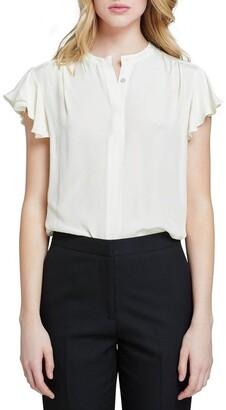 Oxford Freya Short Sleeve Blouse