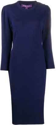 Ralph Lauren Collection Long Sleeve Knitted Dress