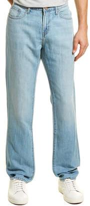 J Brand Kane Lynx Linen-Blend Straight Leg