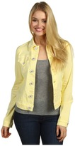 Hudson Signature Jean Jacket in Banana (Banana) - Apparel