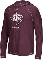 adidas Men's Texas A&M Aggies Loyal Fan Climalite Hooded Long Sleeve T-Shirt