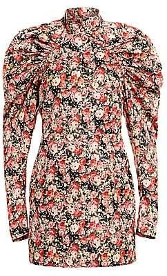 Rotate by Birger Christensen Women's Kim Floral Jacquard Mini Sheath Dress