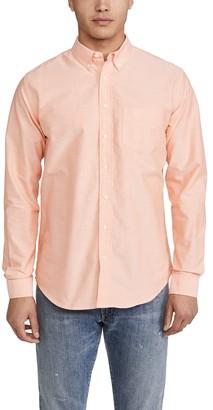 Schnaydermans Long Sleeve Oxford Shirt