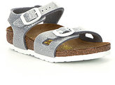 Birkenstock Girls' Rio Glittle Ankle Strap Buckle Casual Sandals
