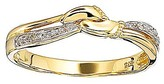 Fashion World 9ct Yellow Gold Diamond Ring