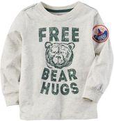 "Carter's Baby Boy Free Bear Hugs"" Graphic Tee"