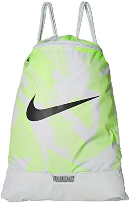 Nike Brasilia Gym Sack 9.0 All Over Print (Photon Dust/Photon Dust/Dark Smoke Grey) Backpack Bags