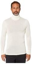Hanro Woolen Silk Turtleneck (Anthracite) Men's Clothing