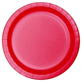 """Spritz 9""""Round 60ct Disposable Dinner Plate Red - SpritzTM"""