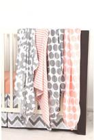 Bacati Ikat Dots/Stripes 6 Piece Crib Bedding Set