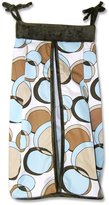 Trend Lab Unknown Geo Brown & Teal Diaper Stacker