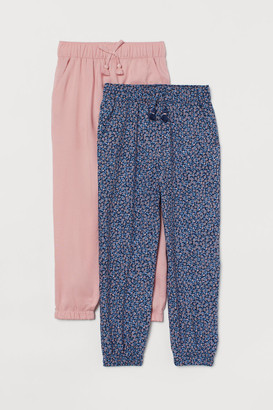 H&M 2-Pack Pull-On Trousers