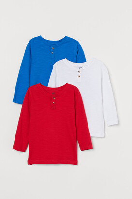 H&M 3-pack Henley Shirts