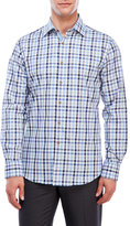 James Tattersall Long Sleeve Plaid Sport Shirt