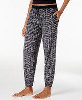DKNY Printed Jogger Pajama Pants