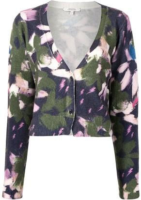 Dorothee Schumacher Floral-Print Knit Cardigan