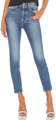RE/DONE Ultra High Rise Ankle Crop. - size 24 (also