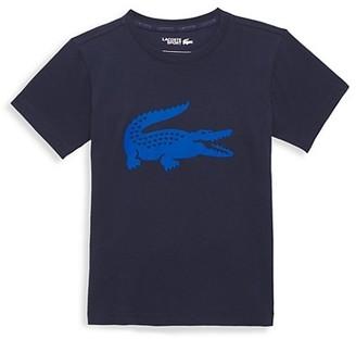 Lacoste Little Boy's & Boy's Crocodile Print Tee