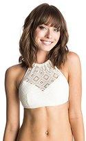 Roxy Women's Hazy Daisy Crop Bikini Top