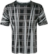 Issey Miyake printed T-shirt - men - Cotton/Polyester - 1