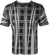 Issey Miyake printed T-shirt - men - Cotton/Polyester - 5