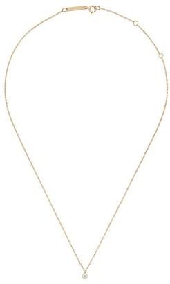 Zoë Chicco 14kt Yellow Gold Single Diamond Chain Necklace
