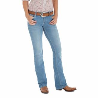 Wrangler Women's Retro Mae Mid Rise Stretch Boot Cut Jean