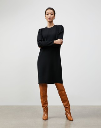 Lafayette 148 New York Petite Finesse Crepe Gia Shift Dress
