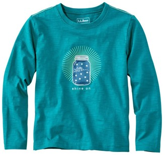 L.L. Bean Kids' Graphic Tee, Long Sleeve, Glow -in-the-Dark