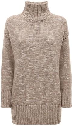 CASASOLA Regenerated Cashmere Turtleneck Sweater