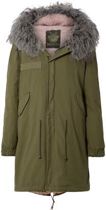 Mr & Mrs Italy Shearling-lined Cotton-canvas Hooded Parka