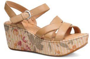 Børn Aruba Leather Wedge Sandals